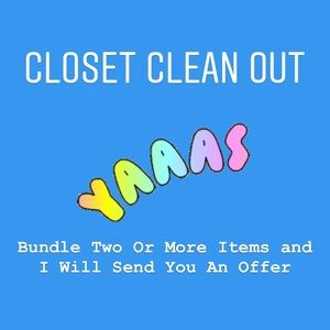 Other - I'll Send You An Offer on Two or More Items!